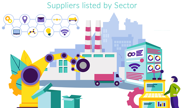 Suppliers by Directory Sector